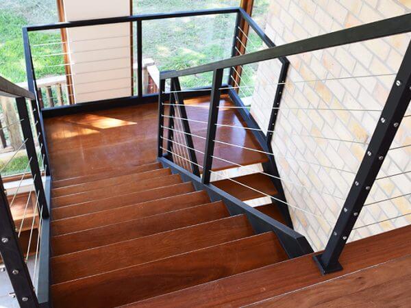 Murilo: Escada mista